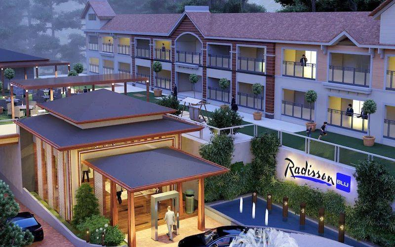 Siddharth Shanker Giri, Radisson Blu Resort Dharamshala