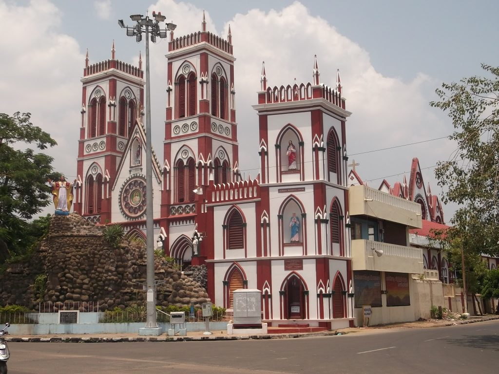 Puducherry Sacred Heart Cathedral 2 10 best places to visit in Pondicherry