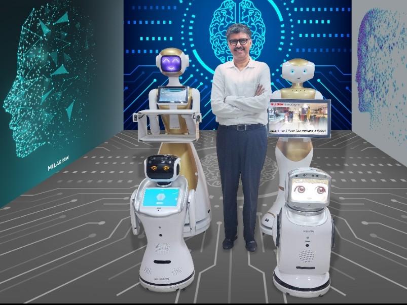Milagrow, Rajeev Karwal, HumanTech Robots