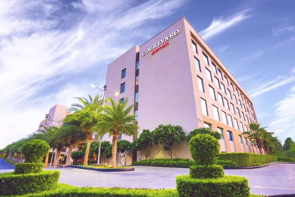 Courtyard by Marriott Agra, home delivery