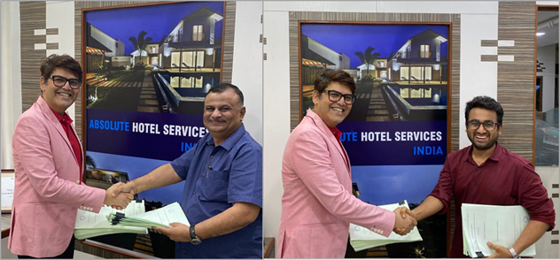 Absolute Hotel Services signs  Agreements with Valia Hospitality And Realty