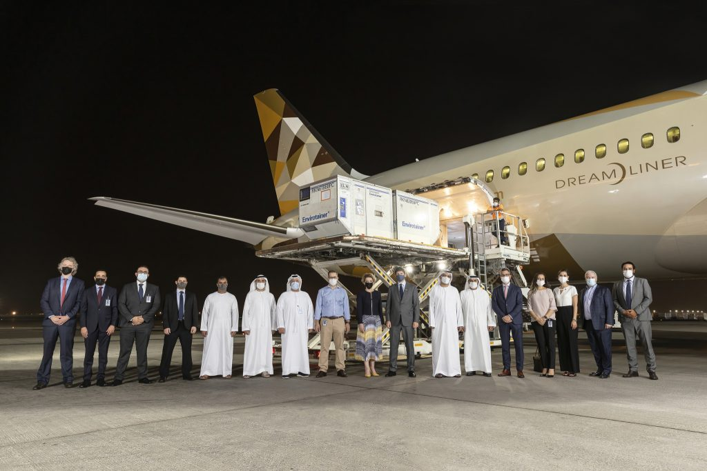 Abu Dhabi is the first globally to get the first shipment of anti-covid medication