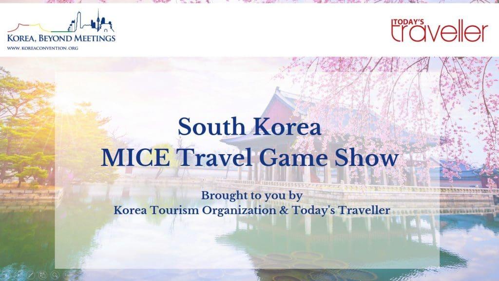 South Korea MICE Travel Game Show, Korea Tourism Organization New Delhi Office