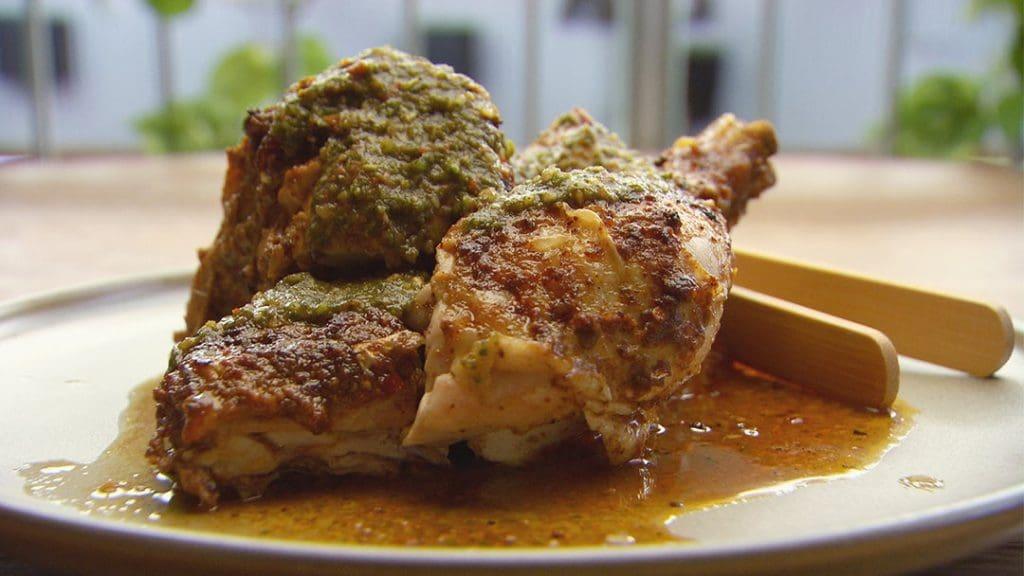 Charcoal Chicken with Zhoug -MasterChef Australia S13