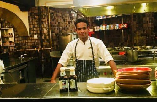 Chef Akash Chauhan, Hyatt Place Gurgaon.