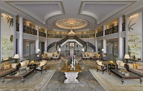 Lobby Raffles Udaipur Raffles Udaipur brings legendary Raffles hospitality to scenic Udaipur on Aug 2, 2021
