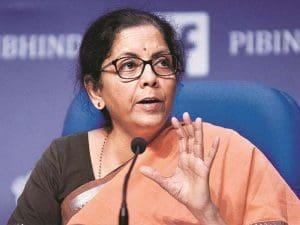 Ministry of Finance- Hon'ble Union Finance Minister Smt. Nirmala Sitharaman -