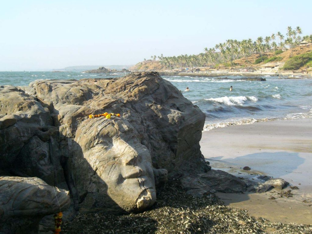 Ozran Beach, Vagator (Goa) - one of the lesser-explored beaches in India