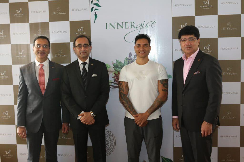INNERgise: Parveen Chander Kumar - Global VP Sales & Marketing, Digvijay Singh - Area Director, Maharashtra & Gujarat, Luke Coutinho & Puneet Chhatwal - MD & CEO, IHCL