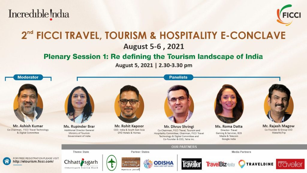 Plenary1 FICCI to organise 2nd Virtual Edition of Travel, Tourism & Hospitality E-Conclave