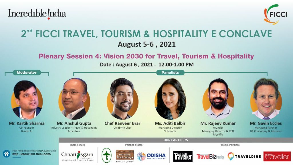 Plenary4 FICCI to organise 2nd Virtual Edition of Travel, Tourism & Hospitality E-Conclave