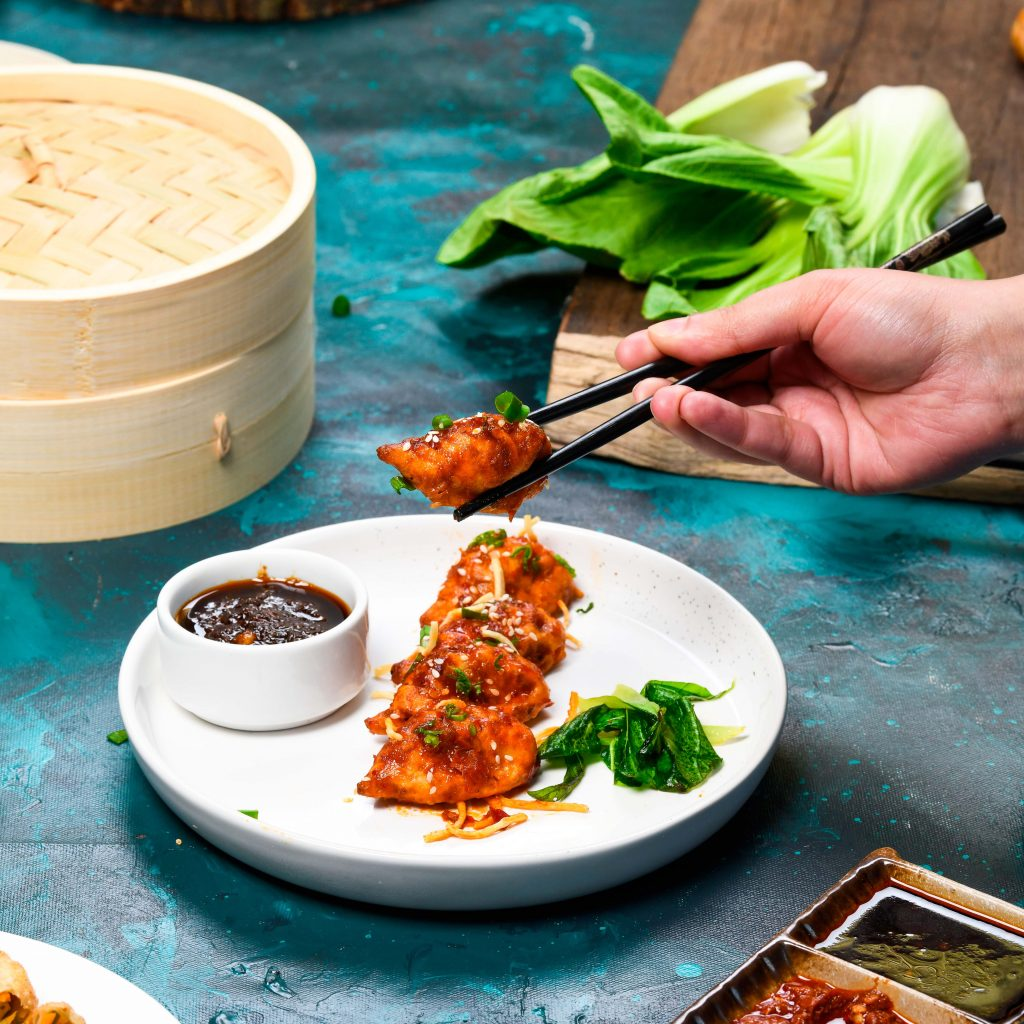 Rajouri Garden Market Chilly Garlic Momos 5 Crowne Plaza Gurugram introduces new Street Food menu - love will now be home delivered'