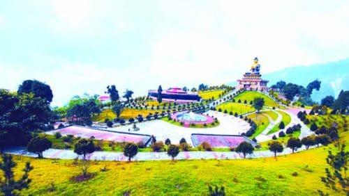 Ravangla monastery and Buddha Statue