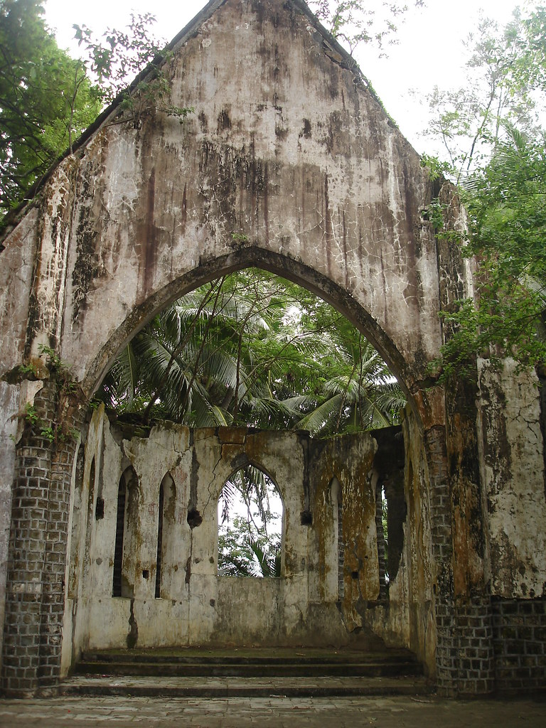 The Old Ruins at Ross Island