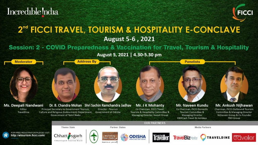 Session 2 FICCI to organise 2nd Virtual Edition of Travel, Tourism & Hospitality E-Conclave