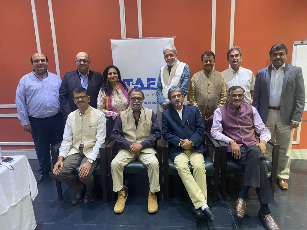 The newly elected Managing Committee of TAFI