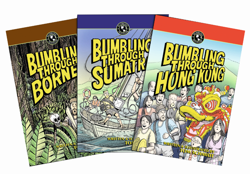The Bumbling Traveller Series