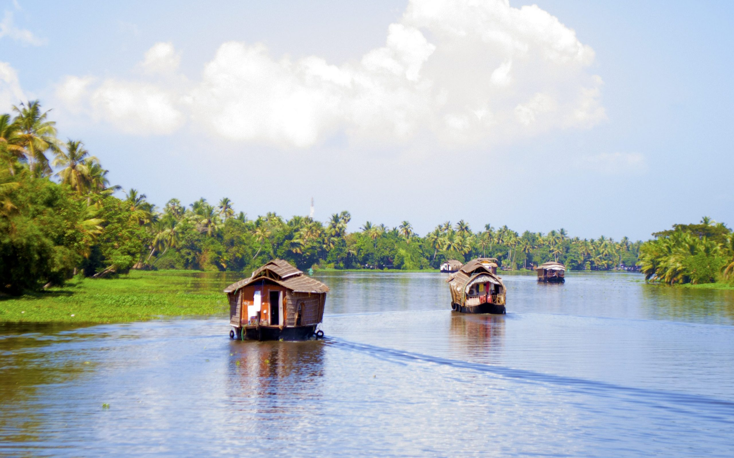 houseboats edited scaled 5 charming offbeat destinations in Kerala