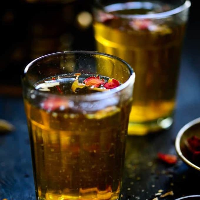 httpswww.whiskaffair.comauthentic kashmiri tea kahwa recipe edited Different cuisines in India - a great food fiesta