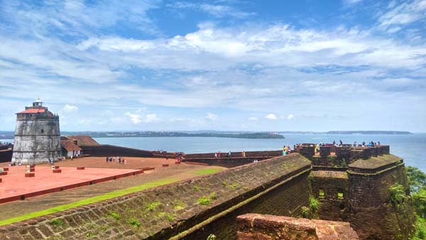 AGUADA FORT 01 Check out these wonderful 10 places to chill in Goa