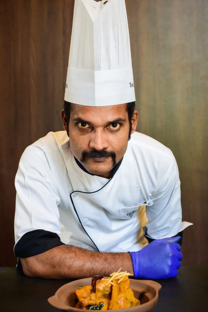 Chef Vijayakumar - Westin Gurgaon, New Delhi