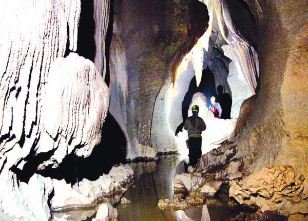 Check out Meghalaya for thrilling cave adventures!