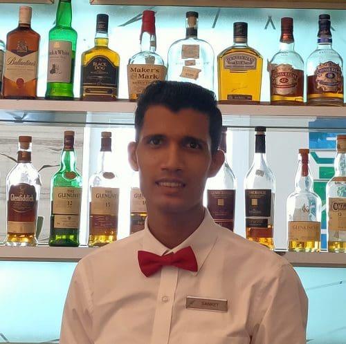 Meluha Sanket Mahadik Steward edited Favourite Summer Cooler: Sanket Mahadik, Steward (Bartender), Meluha The Fern, Powai-Mumbai