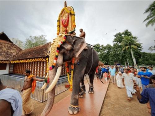 Kerala -  Thrikkakara temple