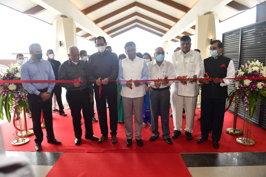 Fairfield by Marriott Benaulim launch - ribbon cutting by Dr Pramod Sawant, Chief Minister, Goa and other delegates