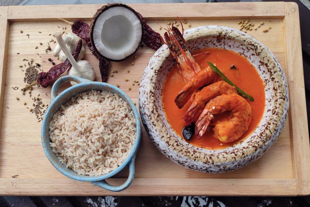 Feliz - Goan Prawn Curry