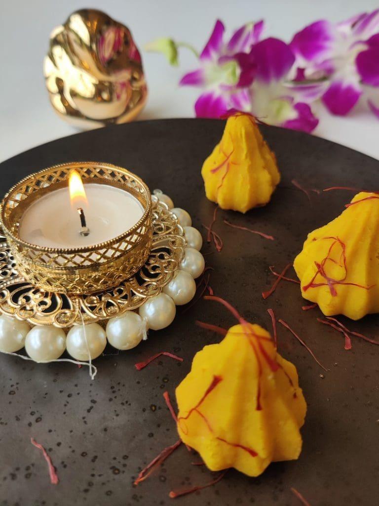Ganesh Chaturthi celebratory sweets - modak