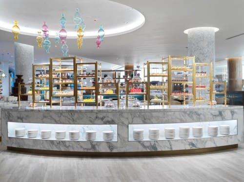 Saffron Dessert Station