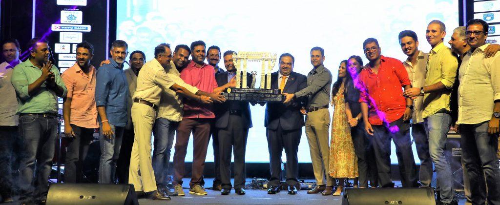 Winners of the Sreenidhi University Telangana Premier Golf League